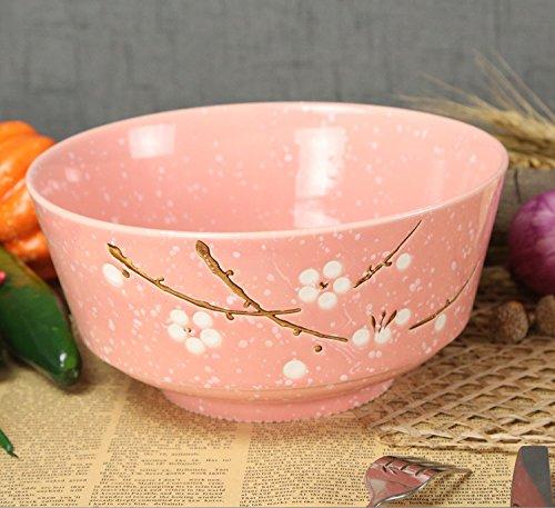 marshel Suppenteller Japan Design Sakura Cherry Blossom Salat Nudeln Teller Gericht Pink Cherry Blossom Teller