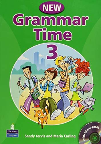 Grammar time. Student's book. Per la Scuola media. Con CD-ROM: Grammar Time 3 Student Book Pack New Edition por Sandy Jervis