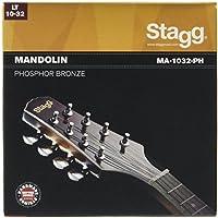 Stagg MA-1032-PH - Juego de cuerdas para mandolina de bronce