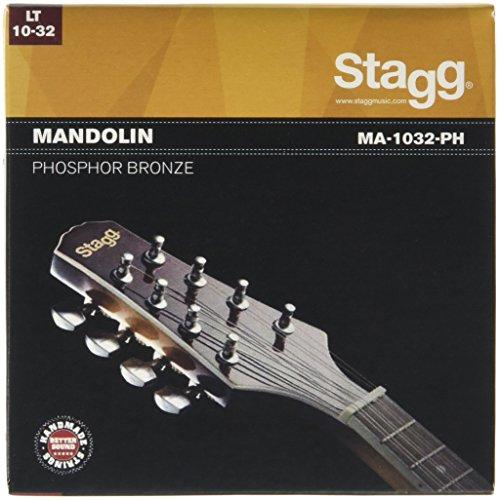 Stagg 14586 Leicht Mandolinen-Seiten Set