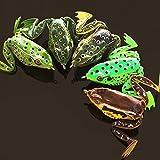 #7: Ocamo 5cm/12g Frog Lure Crankbait Tackle Crank Bait Soft Fishing Lures Bionic Bait