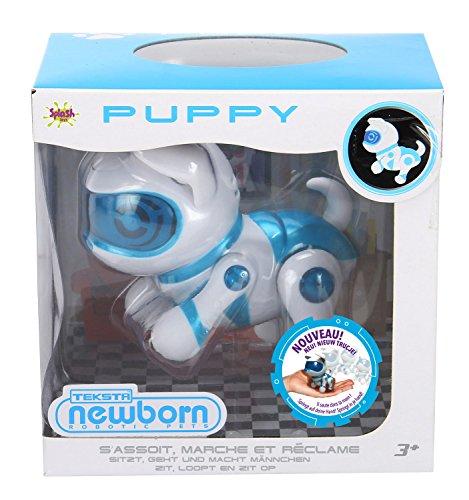 Splash Toys-30647p-teksta-Puppy Newborn V2-bebé Perro Robot interactiva