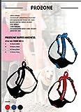 ICEPEAK PET 670302304B Hundehalsband Prozone Harness, S, Classic red