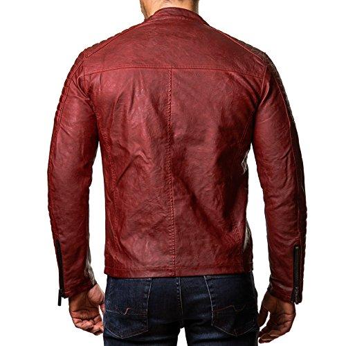 Redbridge - Blouson - À logo - Manches Longues - Homme Rouge