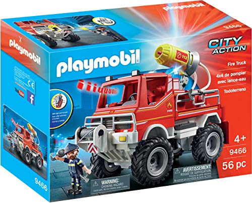 City And Foam Cannon Winch Action Truck With 9466 Playmobil Cable Fire OnP8wXNk0