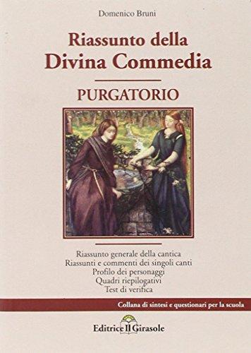 Riassunto della Divina Commedia. Purgatorio