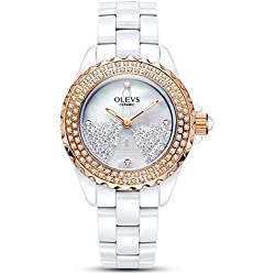 Lady ceramic/French romantic watches/Simple casual watches-G