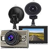Dash Cam Full HD 1080P Camara Frontal de Coche de 170 Amplio Angulo de Vision de la Noche Estacionamiento Vigilancia G-Sensor de Deteccion de Movimiento