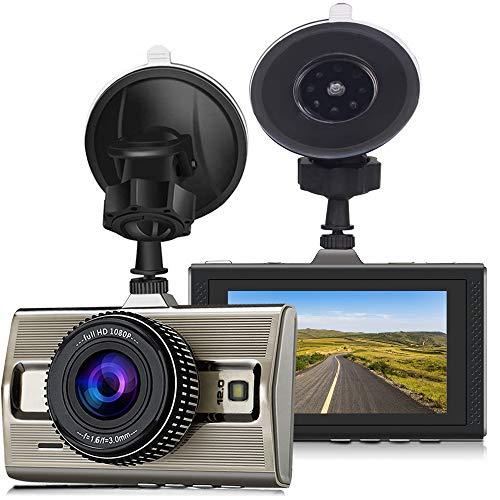 Cam 1080P Front Auto Kamera 170 Weitwinkel Nachtsicht Bewegungserkennung Parkplatz überwachung G-Sensor ()