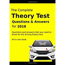 The Complete Theory Test Questions & Answers for 2018