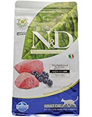 Farmina N&D Grain Free Lamb and Blueberry Adult Cat Food 1