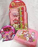 110025 Filly Geschenk Set für Mädchen mit Filly Brotdose, Überraschungstüte, Schreib Set als Geschenk verpackt