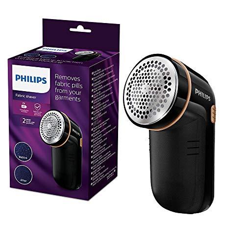 Philips GC026/80 Rasoir Anti-Bouloche et Anti-Peluche - Noir et Or