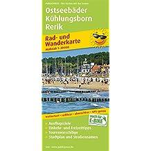 Ostseebäder Kühlungsborn - Rerik: Rad- und Wanderkarte mit Ausflugszielen, Einkehr- & Freizeittipps und Stadtplänen, wetterfest, reißfest, abwischbar, GPS-genau. 1:30000 (Rad- und Wanderkarte / RuWK)