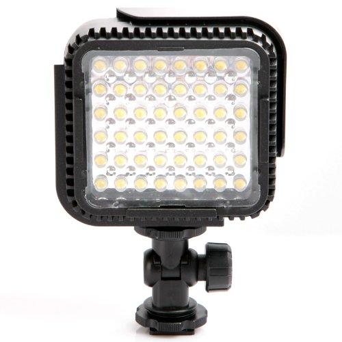Andoer CN-LUX480 - Faretto a LED per videocamere Canon e Nikon