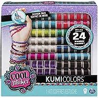 Cool Maker - 6046622 - Kumi Kreator Nachfüllpackung - Jewels + Cools - Garnspulen für Kumi Kreator - Freundschaftsarmbänder flechten