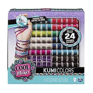 Kumi Cools Fashion Packs KumiJewels + KumiCools - Kits de joyería para niños (Pulsera, 8 año(s), Multicolor, Niño, Chica, China)