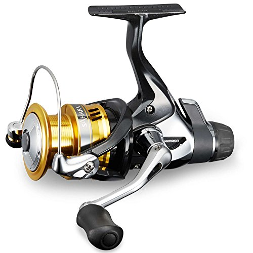 Shimano Sahara 4000 R, Spinning Angelrolle mit Heckbremse, SH4000R