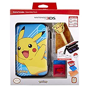 New nintendo 3ds 3ds xl 3ds xl essential pack pokemon for Housse new 2ds xl