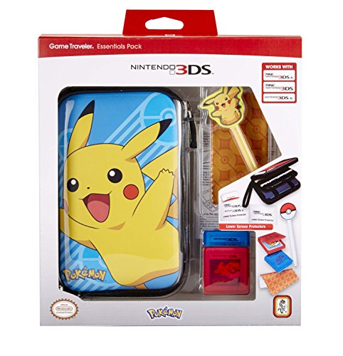 Bigben Interactive - Essential Pack Pokemon RUBY (Nintendo 3DS XL), modelos aleatorios