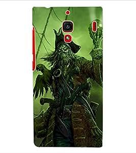 ColourCraft Devil look Design Back Case Cover for XIAOMI REDMI 1S