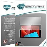 Slabo 2 x Pellicola Protettiva per Display Vodafone Tab Prime 7 Protezione Display No Reflexion|Anti-Riflesso Opaca - Senza riflesso Made in Germany