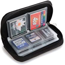 Case Pouch Housse étui pour 22 cartes mémoire micro SD XD