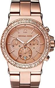 Michael Kors Damen-Armbanduhr XL Chronograph Quarz Edelstahl MK5412