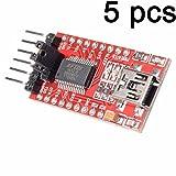 5pcs usb - serial adapter zu ft232rl ftdi 3,3v 5,5v modul mini - hafen für die arduino - mini - hafen