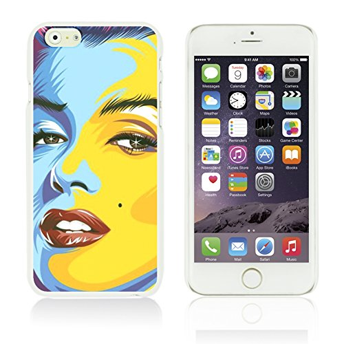 OBiDi - Celebrity Star Hard Back Case / Housse pour Apple iPhone 6 / 6S (4.7 inch)Smartphone - Marvin Gaye Marilyn Monroe