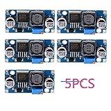 5PCS XL6009 5-32V zu 5-50V DC-DC Aufladungs-Modul-Ausgangsspannung justierbarer Schritt herauf Boost Energien-Konverter-Leiterplatten-Modul 400KHz Wiedereinbau für LM2577