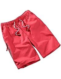 WDDGPZDK Strand Shorts  Bekleidung Sommer Lässige Shorts Men Baumwolle  Atmungsaktive Shorts Bequeme Mann Maskuline Hosen 8ef9164300