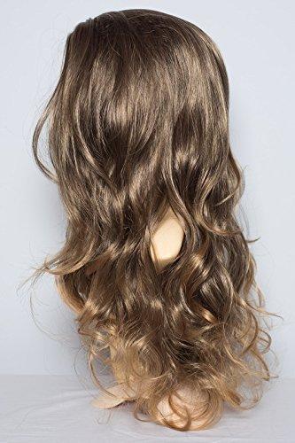 elegant-hair-22-ladies-3-4-half-fall-wig-wavy-style-medium-brown-dark-blonde-tips-high-quality-kanek