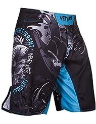 Venum MMA Shorts De Pelea Koi - shorts de pelea,MMA Short BJJ Grappling Lucha libre short - Negro, M