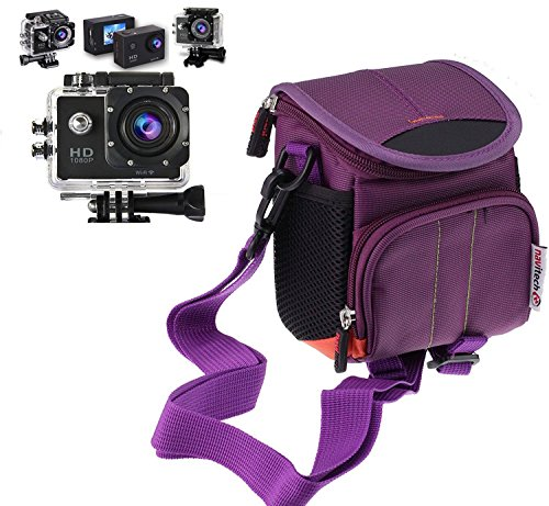 navitech-purple-action-camera-case-cover-with-multiple-pockets-including-customisable-internal-stora