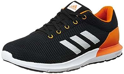 Adidas Men's Cosmic 1.1 M Cblack, Silvmt and Uniora Running Shoes - 8 UK/India (42 EU)