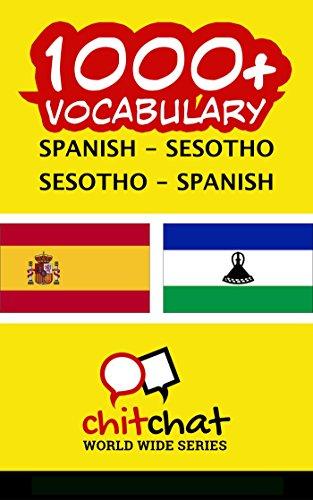 1000+ Spanish - Sesotho Sesotho - Spanish Vocabulary por Jerry Greer