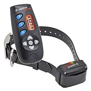 Collier de dressage chien premium DOGtrace D-Control 400+ - Dispositif d'entraînement à distance polyvalent à portée de 250 m