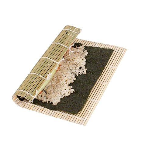 Eqlef® sushi roller bambù fai da te sushi mat onigiri riso rullo a mano maker sushi utensili da cucina accessori