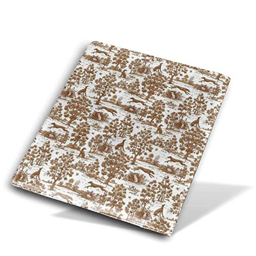 itruty Brown Greyhound Toile Copertina del Libro School PU Leather Durable Washable Reusable for Students 9'X 11'Jumbo Manuales