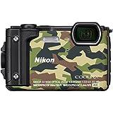 Fotocamera Digitale Nikon Fotoc. W300 CAMO 16M Z24/120Sub30m+zaino