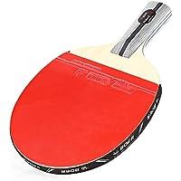 Raquette de tennis de table Paddle Batte de raquette 1étoile Ping Pong Lame Penhold (Alberta)/Shake-hand Grip Raquette Paddle
