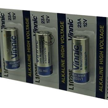Otech Pack De 5 Piles Vinnic Pour Iec 23a Amazonfr Bricolage
