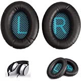 #4: by Lussoliv Replacement Headphone Ear Cushion Earpads Cover for Bose QC25