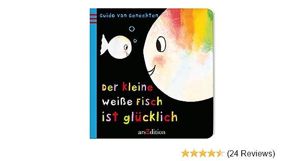 Der kleine weiße Fisch ist glücklich: Amazon.de: Guido van Genechten ...