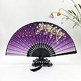 Daeou Ventilador ventilador plegable de estilo japonés