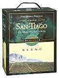 San-Tiago - Blanc Weißwein trocken 13% Vol. - 3l Bag-in-Box