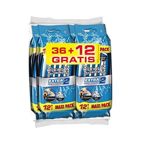wilkinson-extra-2-precision-paquete-de-48-cuchillas-de-afeitar-desechables