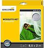 Schellenberg 50310 Red, protección antimosquitos Standard para Camas Individuales, blanco