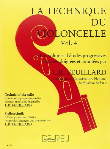 Technique du violoncelle Volume 4